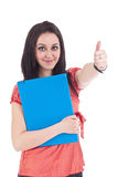 Woman student Stock Photo