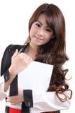 Woman student Royalty Free Stock Photos