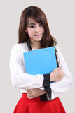 Woman student Stock Image