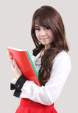 Woman student royalty free stock images