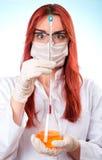 Woman, studio shot Stock Photo