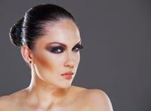 Woman studio stylish portrait Royalty Free Stock Photography