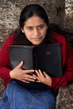 Woman Studying the Bible Royalty Free Stock Images