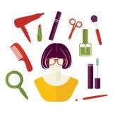 Woman stuff Stock Image