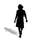A woman with style Stock Image