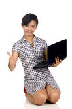 Woman Success In Business Royalty Free Stock Photography