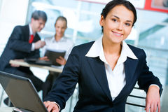 Woman in suit Stock Photos