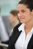 Woman in suit Royalty Free Stock Photos