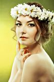 Woman summer royalty free stock photography