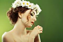 Woman summer Royalty Free Stock Photos