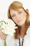 Woman - summer beauty Royalty Free Stock Photography