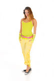 Woman summer clothing Royalty Free Stock Photography