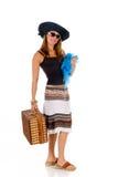 Woman summer clothing Stock Photos
