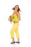 Woman summer clothing Stock Photography