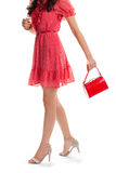 Woman in summer dress. Stock Photography