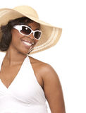 Woman and summer Stock Photo
