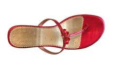 Woman summer shoes Stock Photos