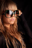 Woman in sunglasses Royalty Free Stock Photo