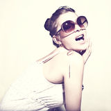 Woman in sunglasses. Stock Photography