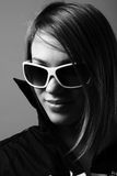 Woman in sunglasses. Royalty Free Stock Photos