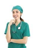 Woman surgeon portrait Stock Images