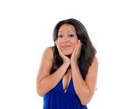 Woman surprised Stock Image