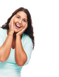 Woman Surprised Royalty Free Stock Image