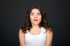 Woman surprised Royalty Free Stock Photos