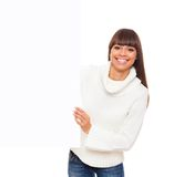 Woman in sweater Stock Image