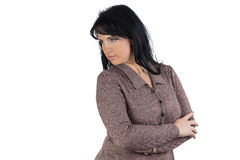 Woman in sweater Royalty Free Stock Photography