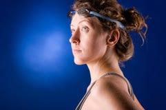Woman swimmer Stock Photos
