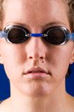 Woman swimmer Royalty Free Stock Photos