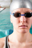 Woman swimmer Royalty Free Stock Photography