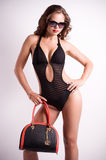Woman in swimming suit Stock Photography