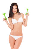 Woman in swimsuit Stock Photos