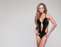 Woman in swimsuit Royalty Free Stock Photos