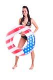 Woman in swimwear Stock Photo