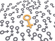 Woman Symbol Royalty Free Stock Images