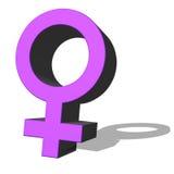 Woman symbol Royalty Free Stock Photography