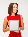 Woman with tablet pc Stock Photo