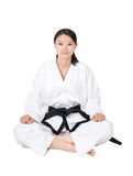 Woman Taekwondo Stock Photos