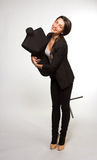Woman tailor holding on Mannequin Stock Photos