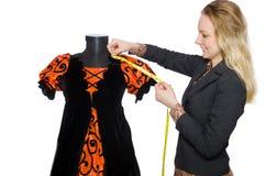 Woman tailor Royalty Free Stock Photos