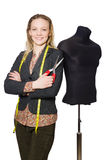 Woman tailor Stock Photo