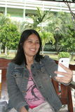 Woman take Stock Photography