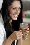 Woman taking a coffee break Royalty Free Stock Photo