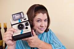 Woman Taking Your Photo Stock Photos