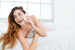 Free Woman Talking On The Phone Stock Photography - 71656442
