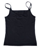Woman tank top wear isolate on white Stock Image