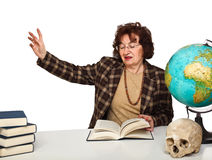 Woman teacher Stock Photography